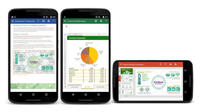 microsoft office pour smartphone android