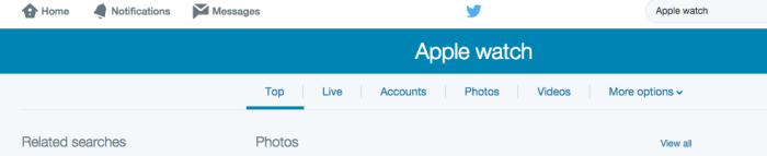 outils Twitter nouvelle version du moteur de recherche