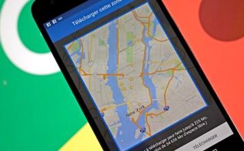 Comment utiliser google maps android en mode hors connexion