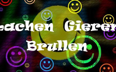 Lachen gieren brullen – of is het huilen?