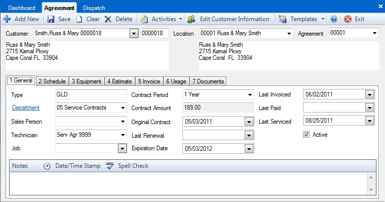 How Do I Create a New Service Agreement? \u2013 dESCO Support