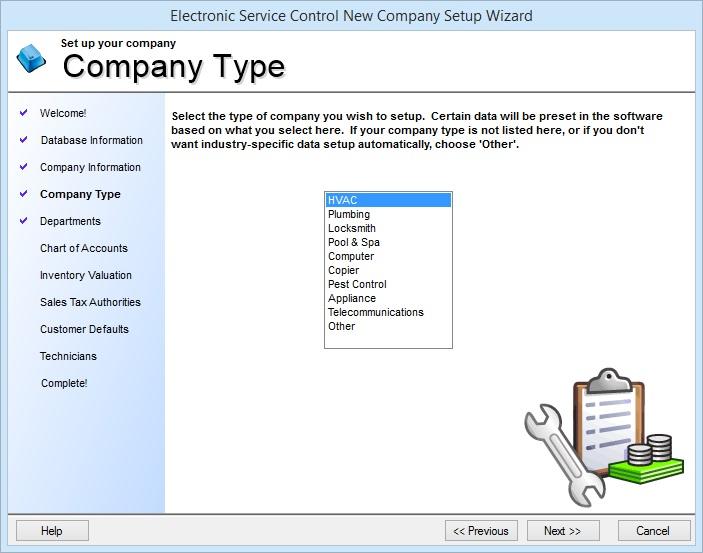 How Do I Create a New Company Database? \u2013 ESC