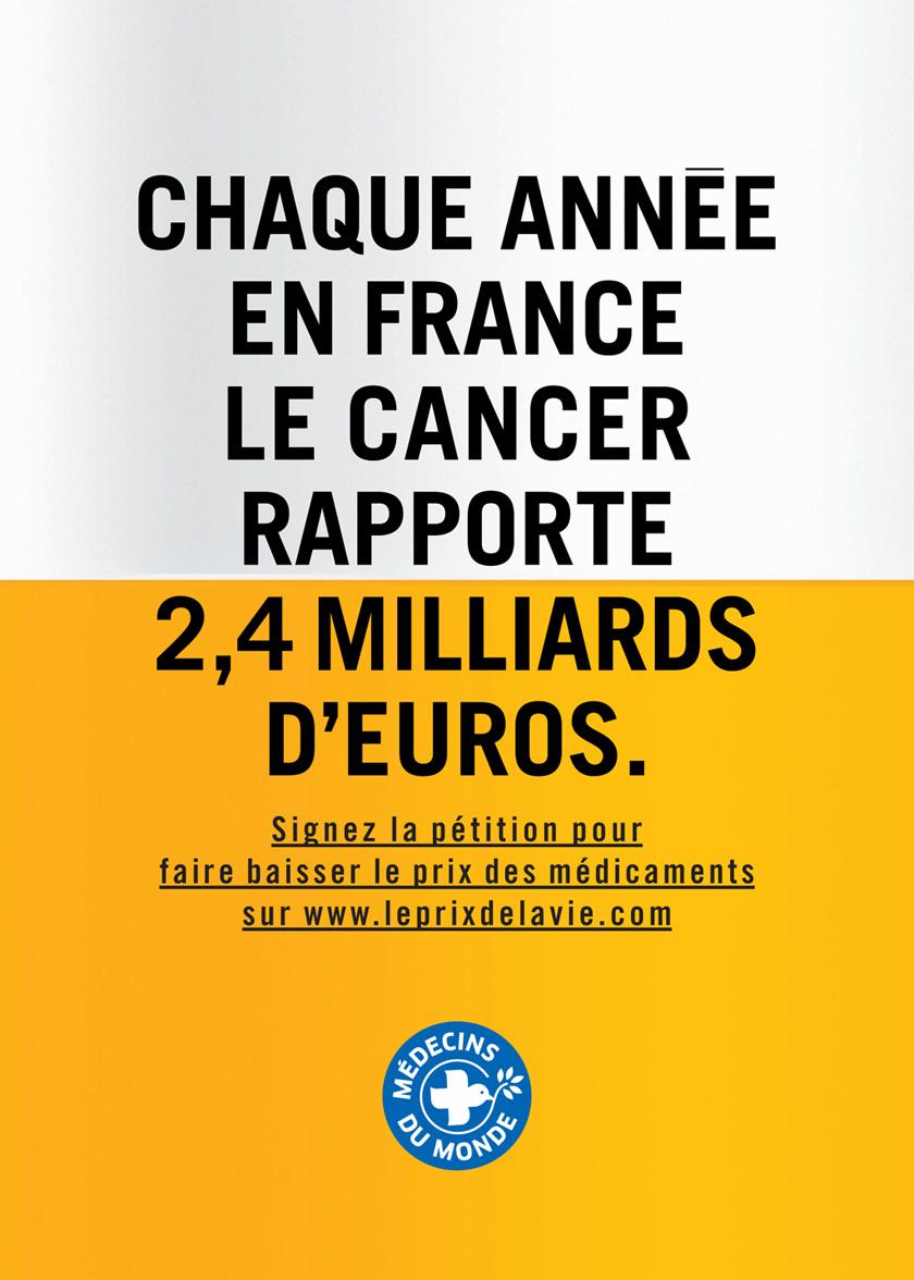 Le cancer rapporte des milliards d'euros