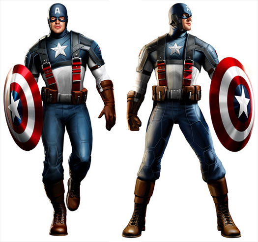 Concept Art de Captain America