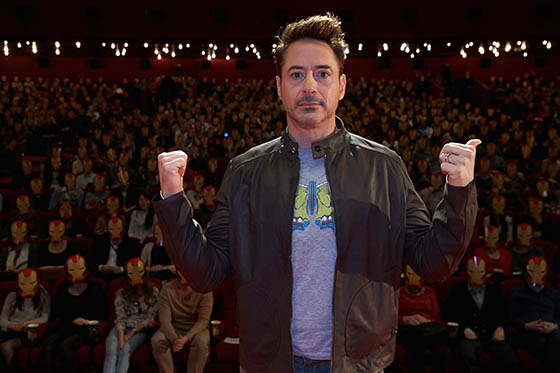 Marvel?s ?Iron Man 3? Robert Downey Jr. Russia Tour ? Iron Man Fan Convention