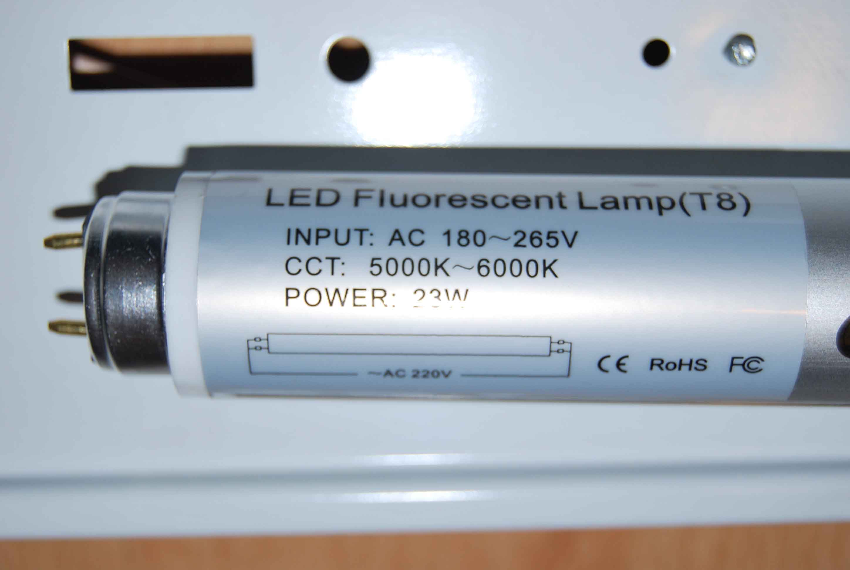Lamparas Led Tipo Fluorescente Tubos