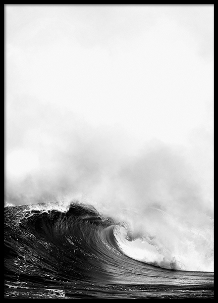Bilder Print Poster With Photo Of Ocean, Wave | Posters With Photo Art