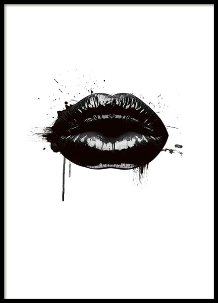 Bilder Print Fashion Lips, Poster