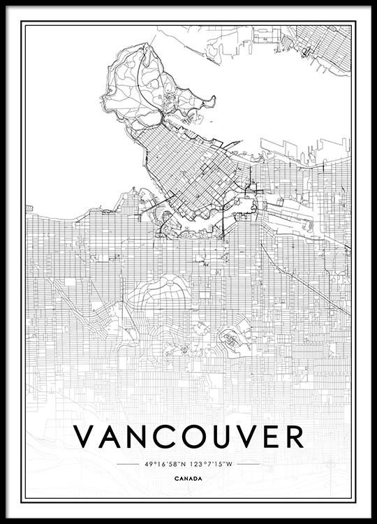 Wall Frames Vancouver Vancouver Poster