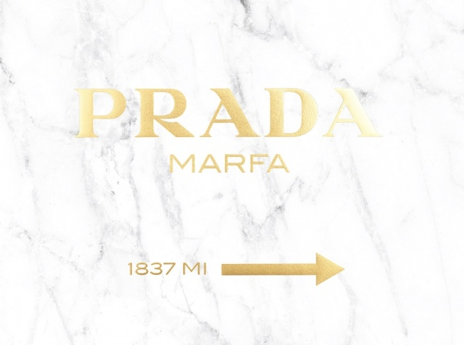 Leaf Wallpaper Quote Mac Poster Prada Marfa With Gold Text On Marble Prints Online