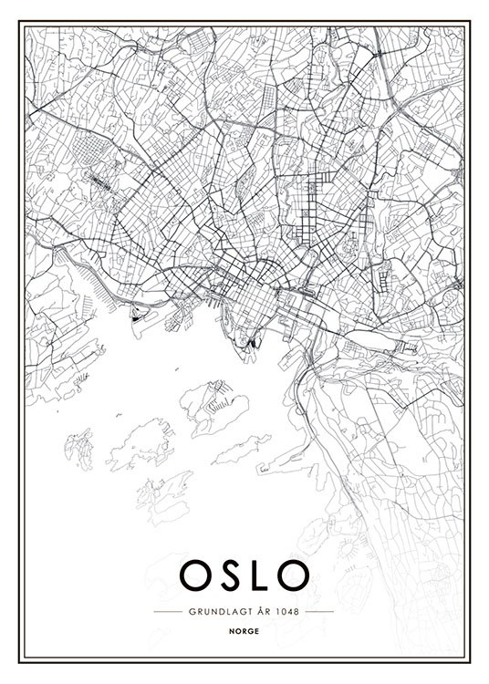 desenio auto electrical wiring diagramoslo poster with map