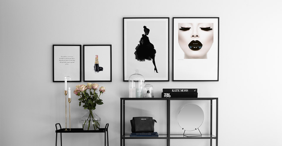 Fashion posters and design prints - Buy fashion art prints at