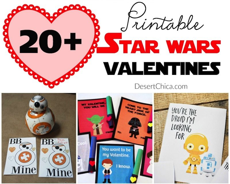 20+ Printable Star Wars Valentines Desert Chica