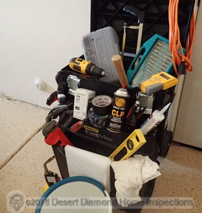 Home owner must-have items - Desert Diamond Home Inspections