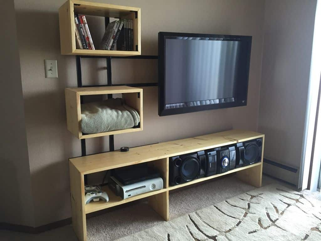33 Easy Diy Tv Stand Ideas In 2020