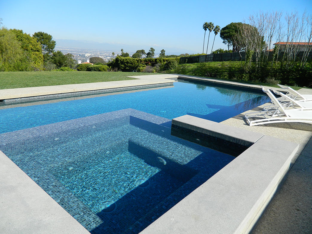 Jacuzzi Pool Details Palos Verdes Estates Pool And Spa Remodel Infinity Edge Spa