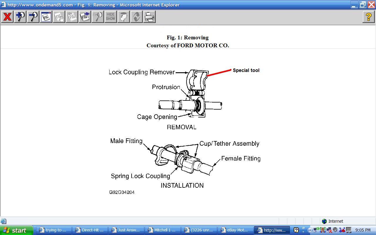 1999 fuel filter tool