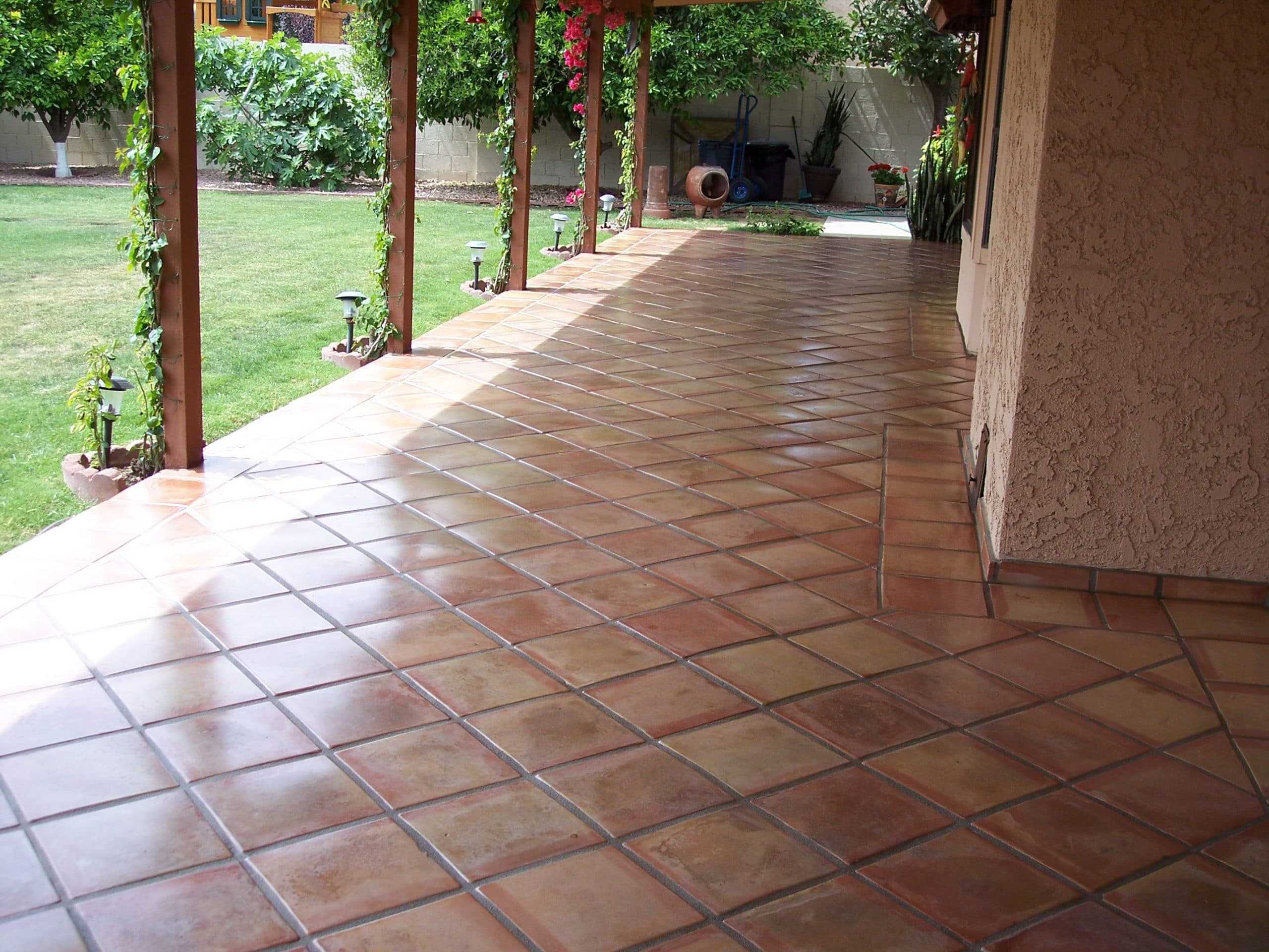 Outside Patio Ultimate Guide To Scottsdale Outdoor Tile Desert Tile