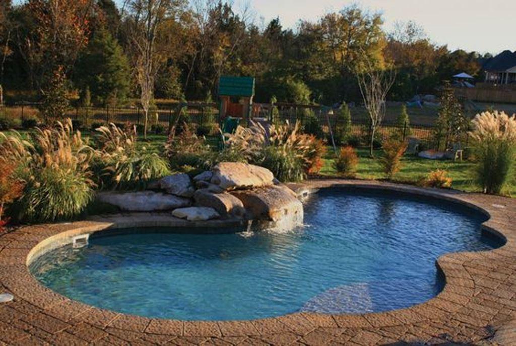 landscaping around pool u2013 deshouse