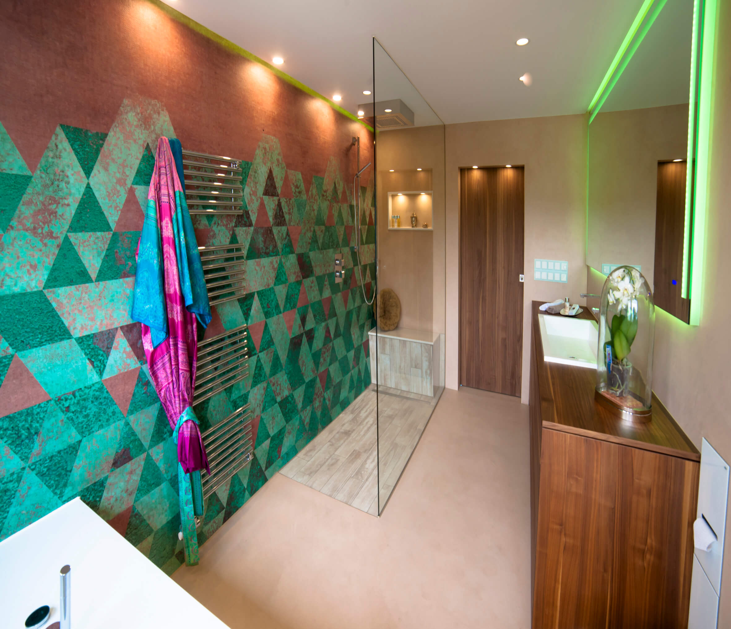 Badezimmer Ablage Ideen Modernes Bad Design Mit Wall And Deco Wet System Tapeten