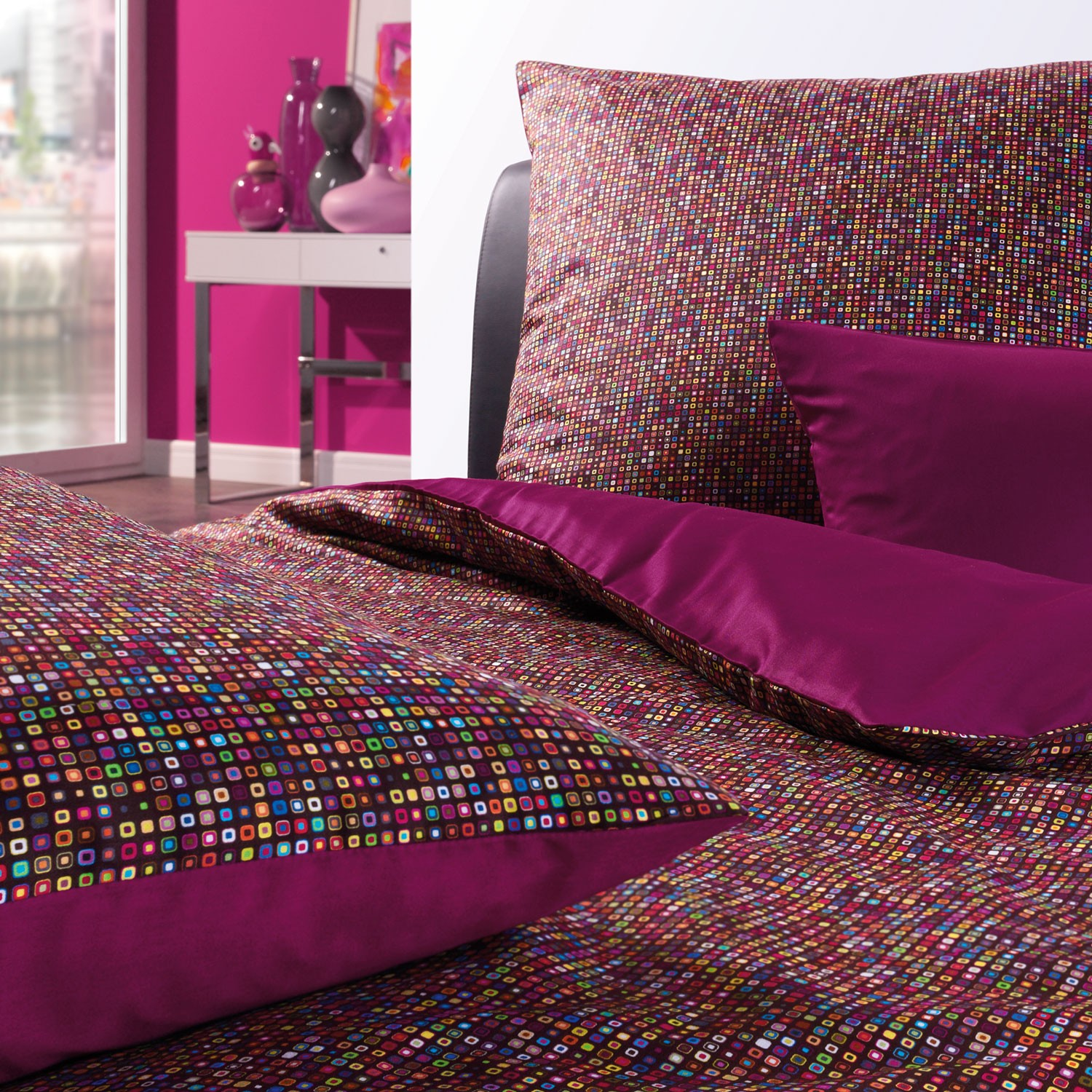 Design Bettwäsche Bettwäsche Estella Dot 7479 Multicolor