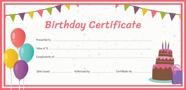 Sample Gift Certificate newyearoltestinfo