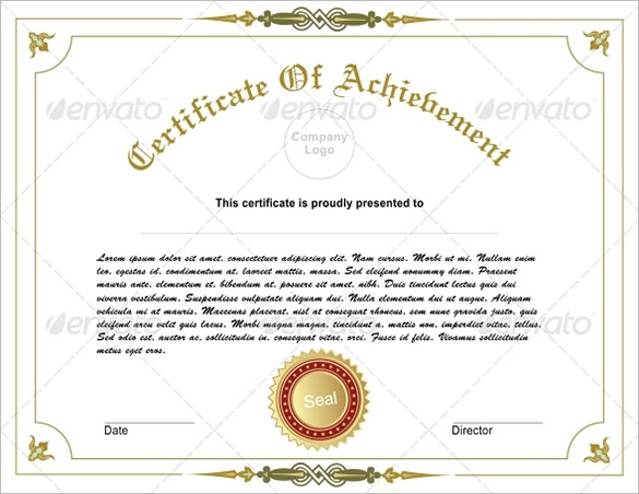 editable-new-free-doc-Editable-Achievement-Certificate-Illustration