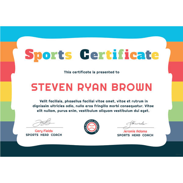 editable-new-free-doc-Free-Kids-Sports-Award-Certificate