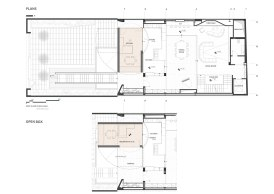 Sharifi-ha House by nextoffice - 1st Floor Plan
