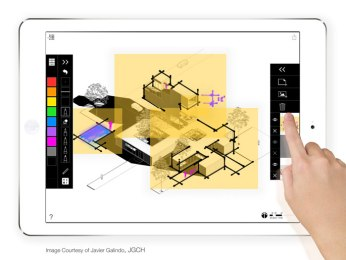 Trace pro imagines the future of creativity for architects design chronicle - Application architecture ipad ...