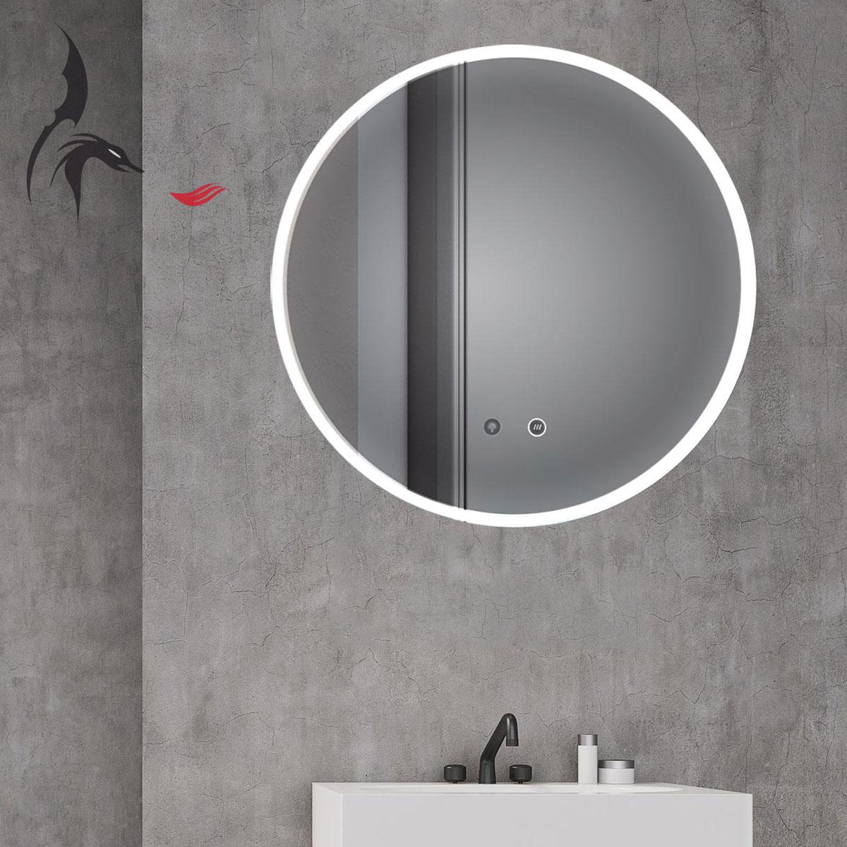 Badezimmerspiegel Rund Led Spiegel Fliesen Und Einzigartig Spiegel
