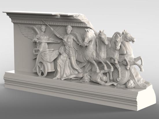 Pergamon 3d print
