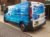 Vehicle Wraps Fareham - Morrison Window Cleaning