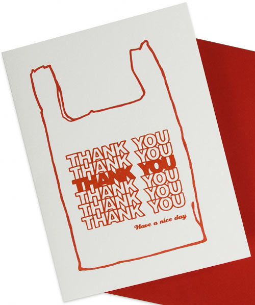30+ Modern Thank You Cards - Design Milk