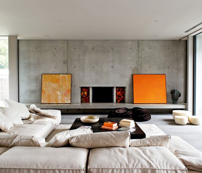 Interior Design Ideas 12 Inviting Concrete Interiors - Design Milk