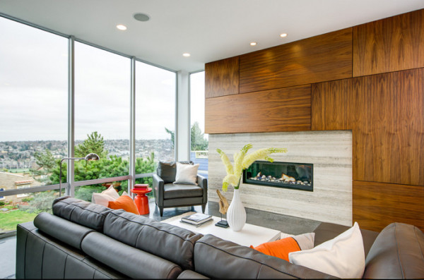 12 Contemporary Wood Walls You\u0027ll Actually Love - Design Milk - contemporary wall paneling