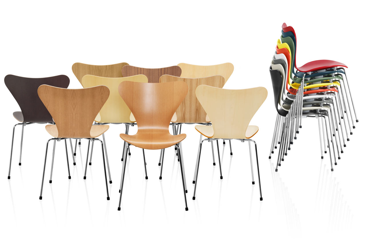 Sedia Job Video Series 7 Chairs By Arne Jacobsen Design Milk