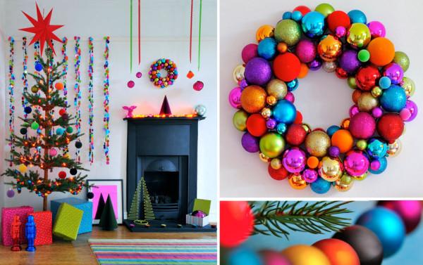 15 Modern Christmas Decorating Ideas - Design Milk - contemporary christmas decorations
