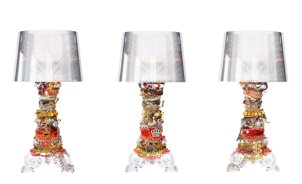 Lamp Kartell 14 Designers Reimagine The Iconic Kartell Bourgie Lamp Design Milk
