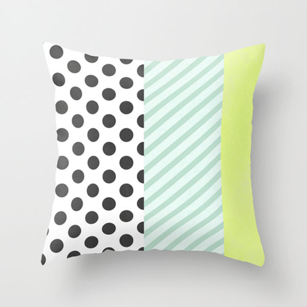 polka dot and stripes - Maggilocustdesign - stripes with polka dots