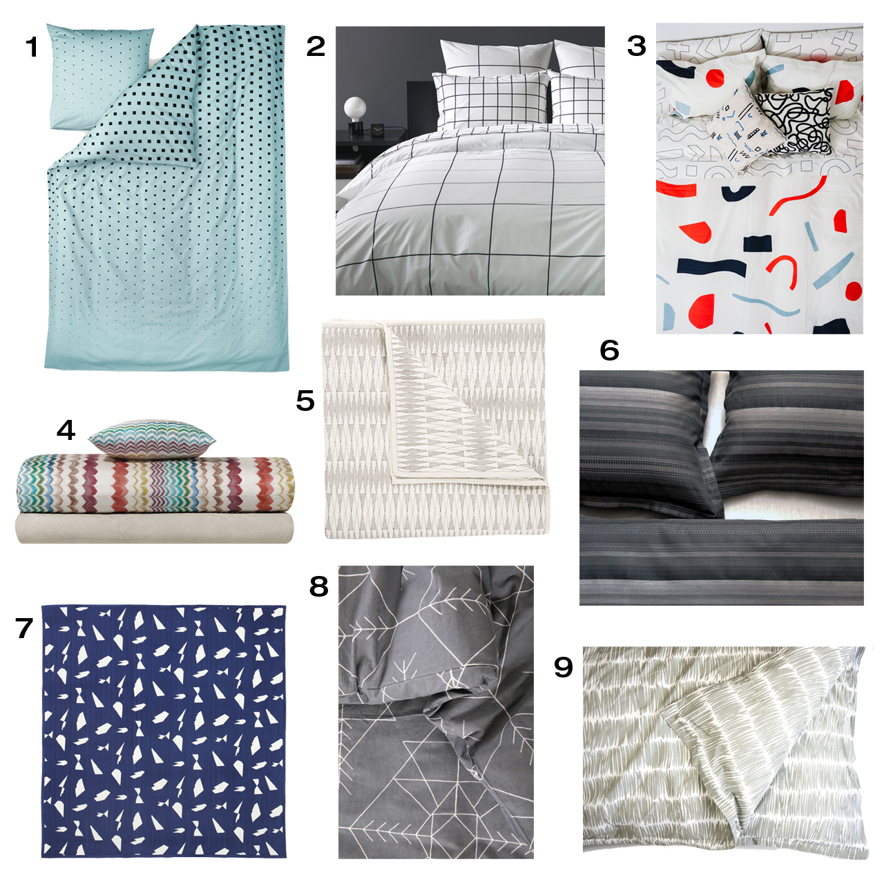 Modern Duvet Roundup Modern Duvets And Quilts Design Milk