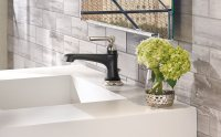 How to Mix Modern + Traditional in the Bathroom - Design Milk