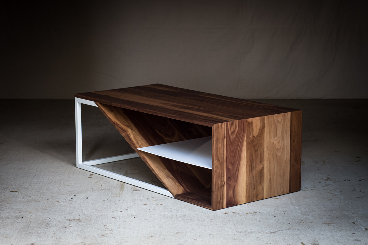 Harkavy furniture focuses on modern pieces made of wood and steel