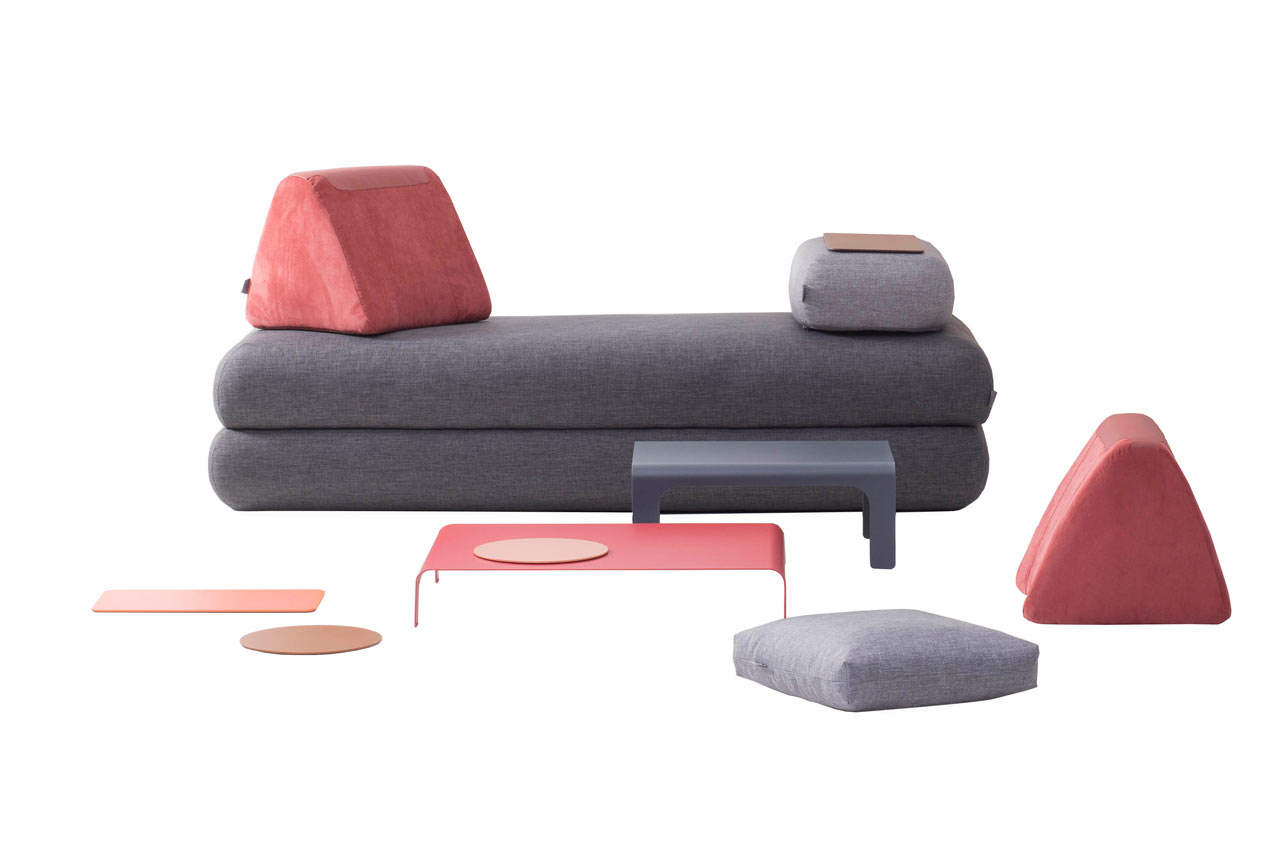 Hannabi Urban Nomad Sofa A Multifunctional Sofa For Urban Nomads Design Milk