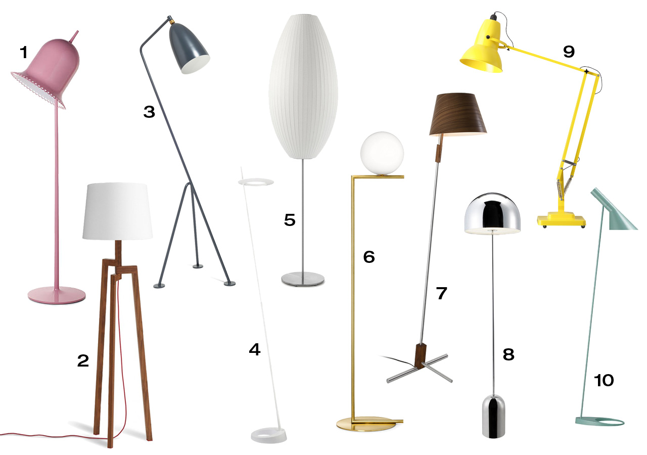 Modern Lamps Design 10 Modern Floor Lamps Design Milk