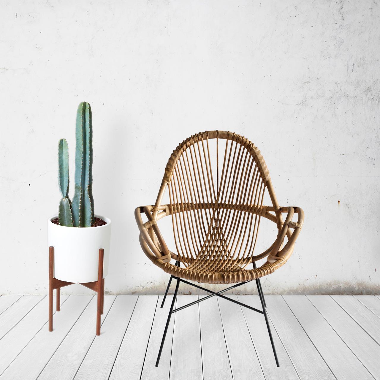 Modern Handwoven Rattan Chairs From Wend Design Milk