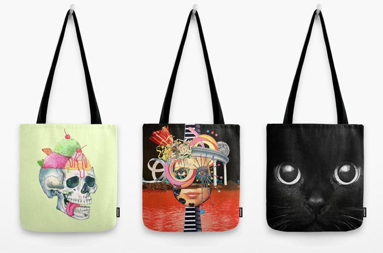 0da162f5d2 8 Artist Designed Tote Bags Great For Gifting Design Milk