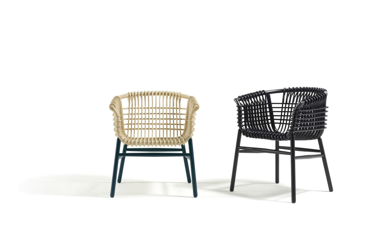 Design Rattan Lukis: A Modern Rattan Armchair Made With Traditional