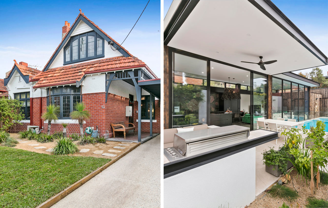 Small Renovations Melbourne House Mullets Traditional In The Front Modern In The Back