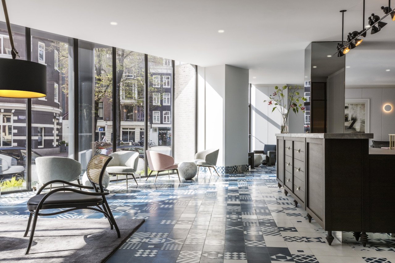Amsterdam Interior Michaelis Boyd Highlights Dutch And Modern Design At The Kimpton